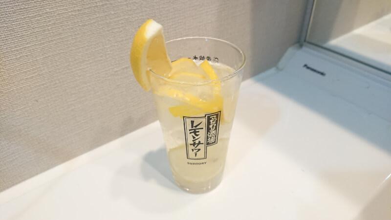 果実入りレモンサワー