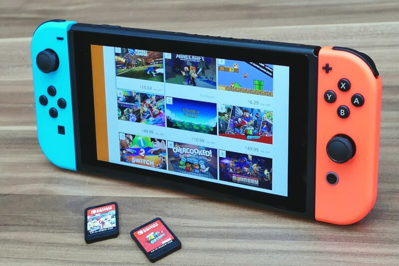 Nintendo Switch(ニンテンドースイッチ)を新品に買い直した理由