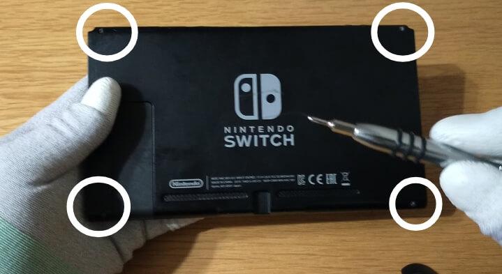 【ニンテンドースイッチの画面割れ・液晶画面とタッチパネルの交換修理方法】自分で修理できました♪