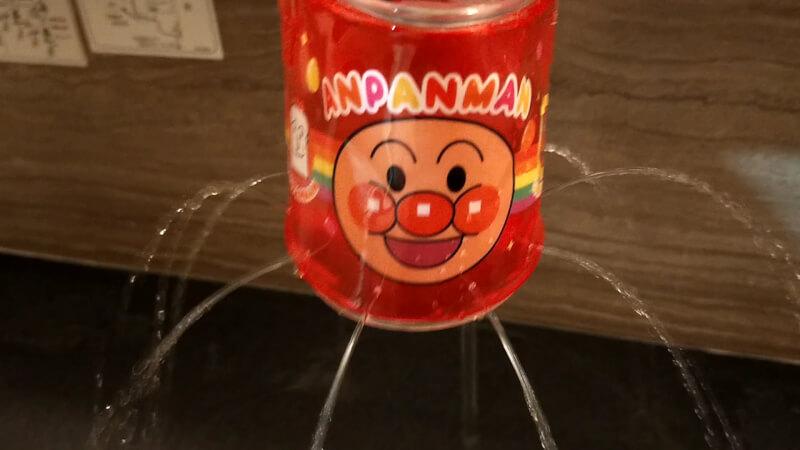 ベビーブック7・8月合併号ふろくのアンパンマンの「ふんすいシャワーバケツW(ダブル)」で娘と遊びました♪