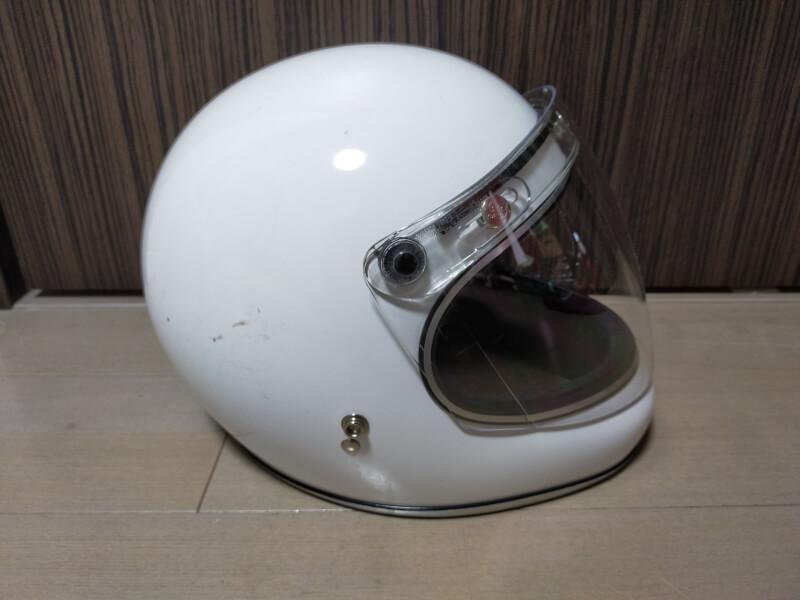ヘルメットのシールド割れ!「ダムトラックス(DAMMTRAX) のアキラ」専用シールド交換しました♪