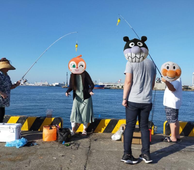 【大阪】サビキ釣りで大量150匹!!汐見埠頭(砂上げ場)でファミリーフィッシング【釣り】